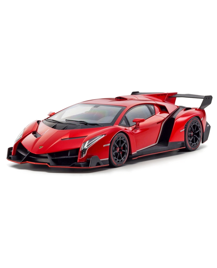 KYOSHO 1/18 Scale Lamborghini Veneno (Red Metallic)