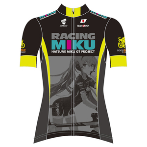 Cycling Jersey: Racing Miku 2015: TeamUKYO Support Ver.