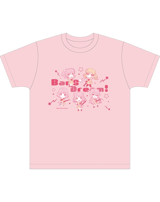 黏土人Plus BanG Dream! T-shirt