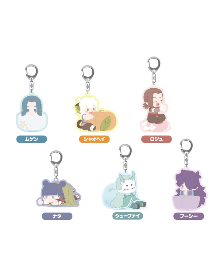 The Legend of Hei Acrylic Keychains - Luozhu