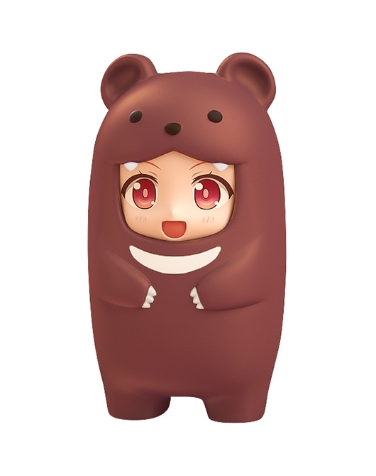Nendoroid More: Face Parts Case (Brown Bear)(Second Release)
