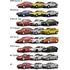 Kyosho 1/64 Scale Alfa Romeo Mini Car Collection 4 (Box of 20)