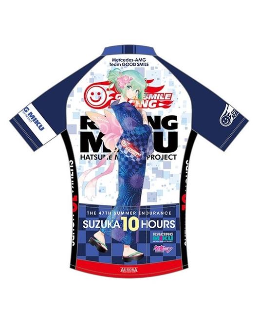 Cycling Jersey Racing Miku SUZUKA 10 HOURS Tony Yukata Ver.