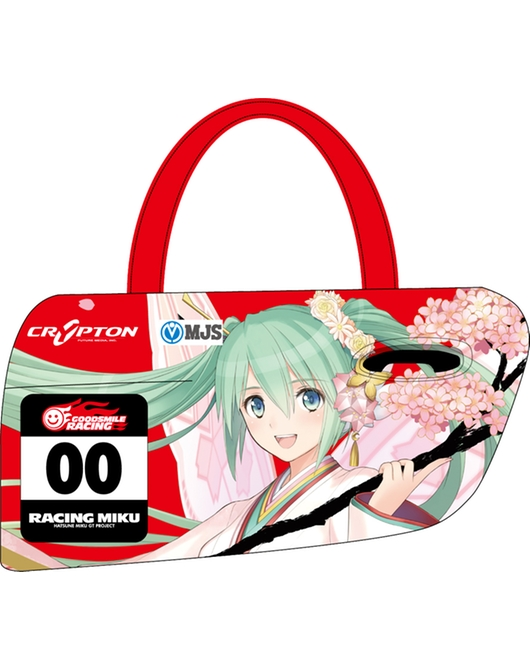 Door-shaped Tote Bag (Racing Miku: Tony Haregi Ver.)