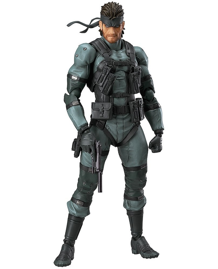 figma Solid Snake: MGS2 ver.(Second Release)