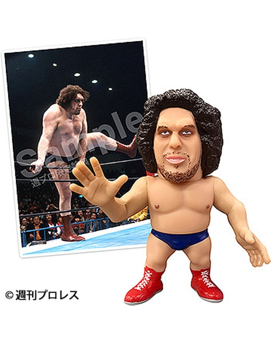 16d Collection: WWE André the Giant【WEEKLY PRO-WRESTLING Corner Exclusive Bonus】