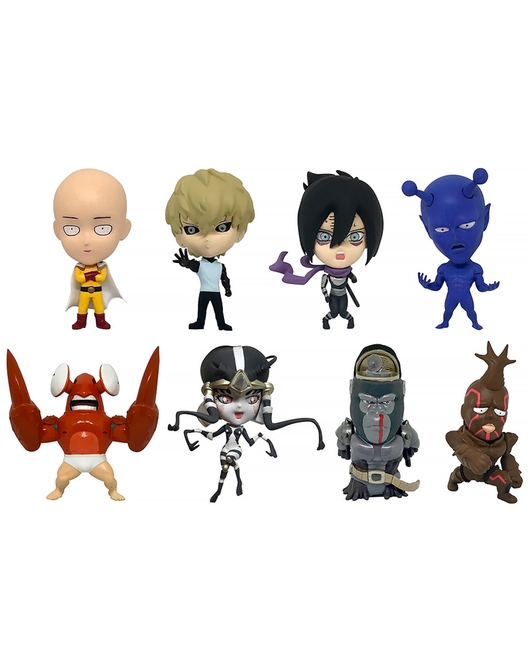 16d Collectible Figure Collection: ONE PUNCH MAN Vol. 1
