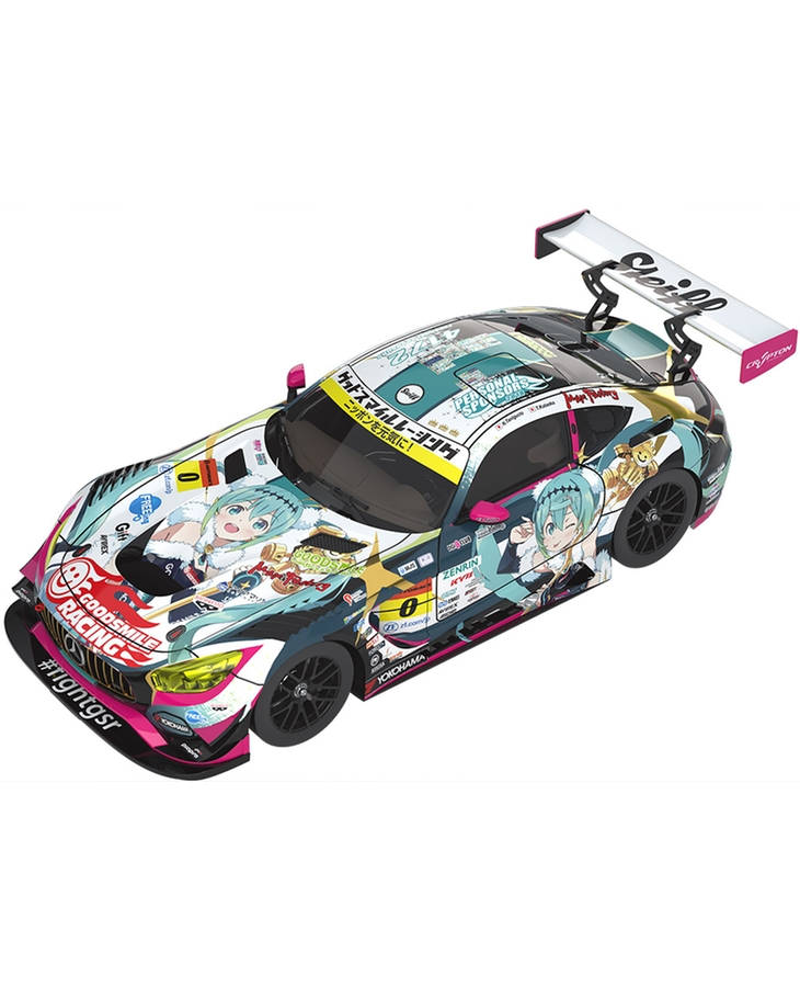 1/43rd Scale Good Smile Hatsune Miku AMG: 2018 Final Race Ver.