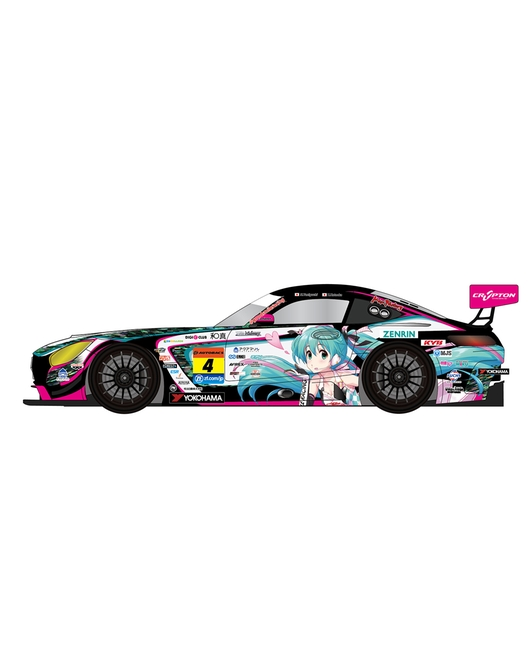 1/32nd Scale Good Smile Hatsune Miku AMG: 2019 SUPER GT Ver.