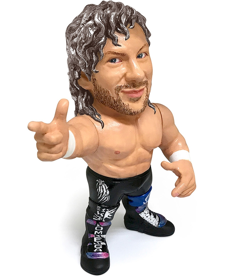 16d Collection: NEW JAPAN PRO-WRESTLING Kenny Omega (Silver Ver.)