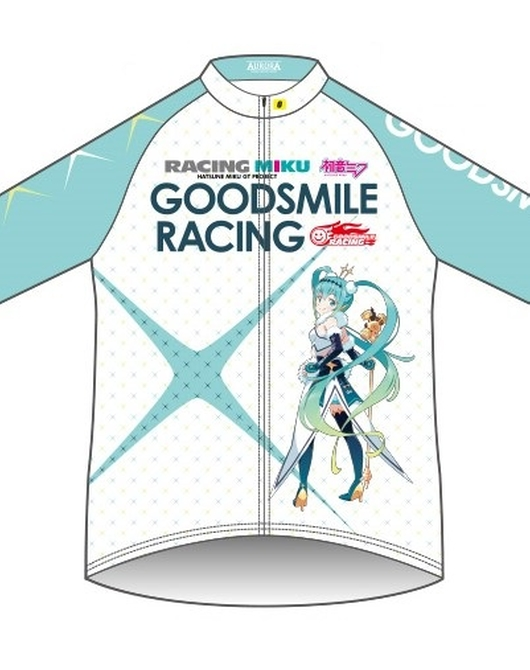 Cycling Windbreaker Racing Miku 2018