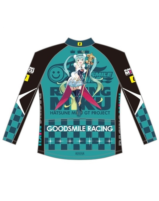 Cycling Winter Jacket Racing Miku 2018 Ver.