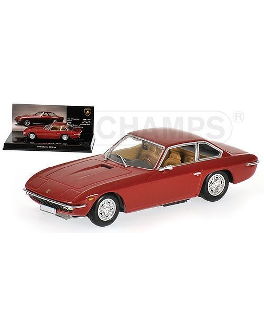 MINICHAMPS 1/43 Scale Lamborghini Islero 1968 (Red) Museum Series
