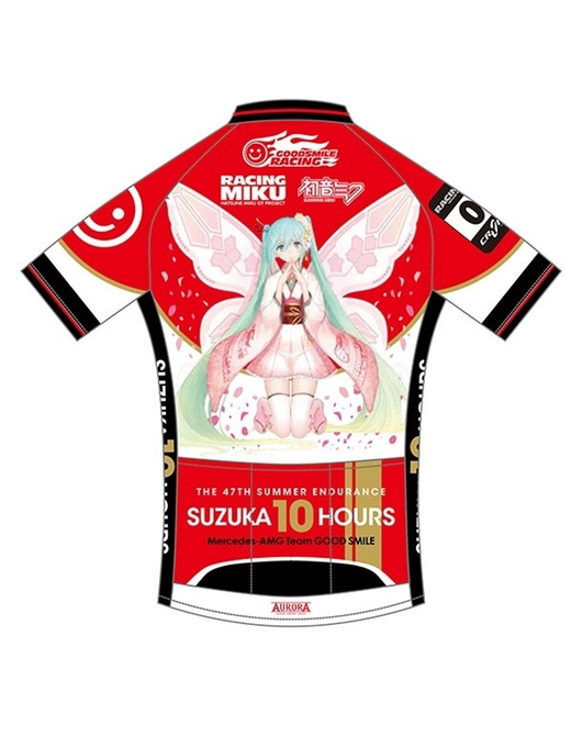Cycling Jersey Racing Miku SUZUKA 10 HOURS Tony Haregi Ver.