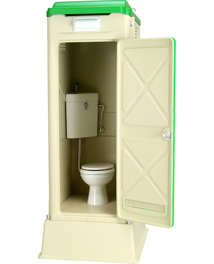 1/12 Scale Portable Toilet TU-R1W