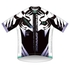 OHMEst.GRANDE Cycling Jersey: 2050 Model (White Tiger Lily)
