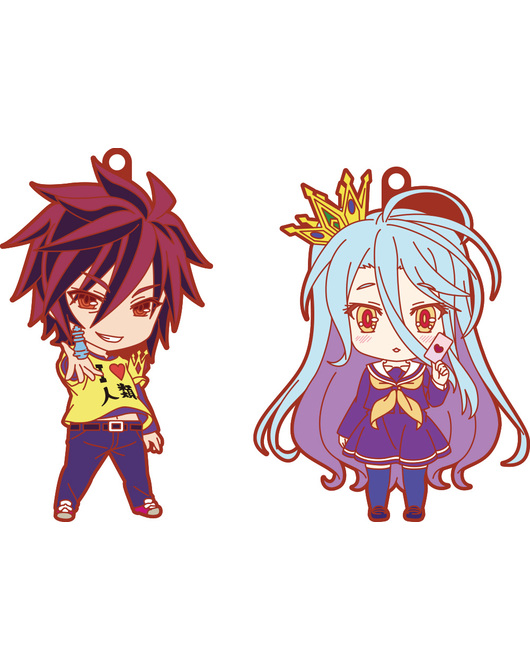 Nendoroid Plus: No Game No Life Rubber Straps - Kuuhaku Set