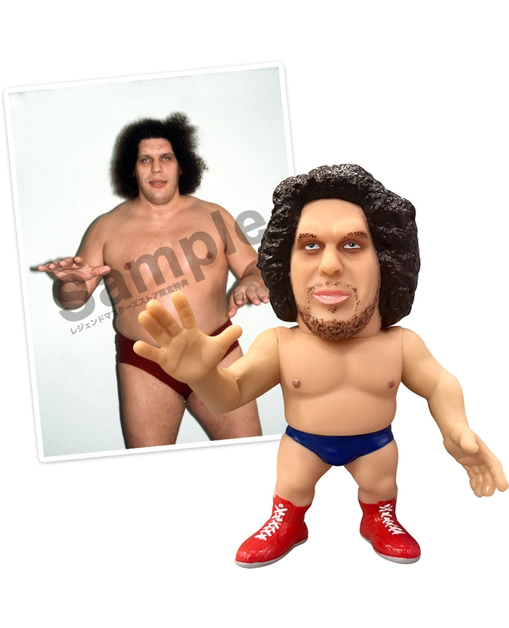 16d Collection: WWE André the Giant【LEGENDARY MASTERS STORE Exclusive Bonus】