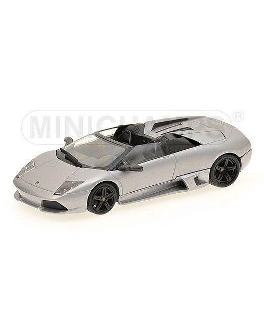 MINICHAMPS 1/43 Scale Lamborghini Murcielago LP640 Roadstar 2007 (Gray Metallic)