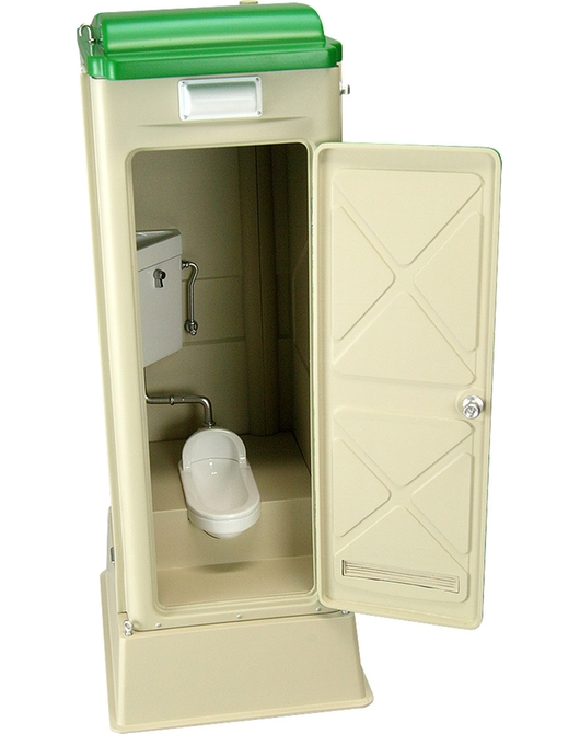 1/12 Scale Portable Toilet TU-R1J
