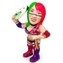 16d Soft Vinyl Collection 011: WWE ASUKA Green Mask Ver.