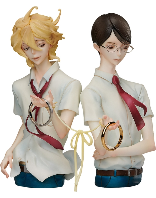 Dou kyu sei: Statue and ring style - Hikaru Kasukabe and Licht Sajo/Size 9
