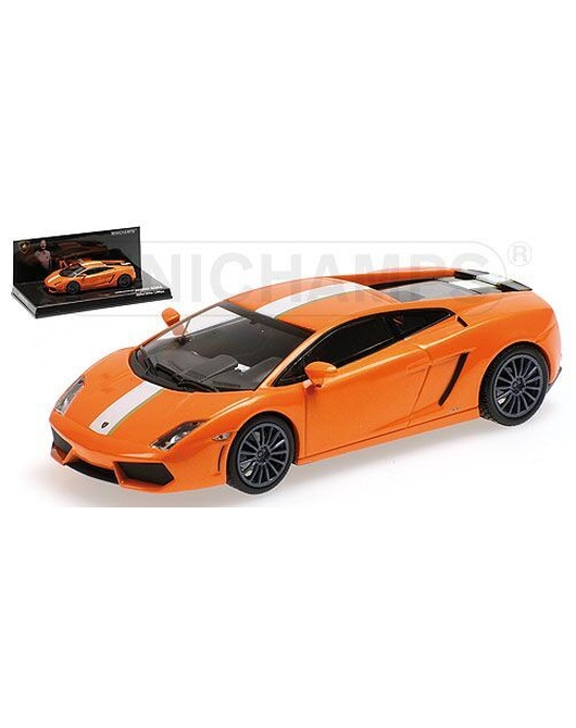 MINICHAMPS1/43 Scale Lamborghini Gallardo LP550-2 2009(Orange)<VALENTINO BALBONI>