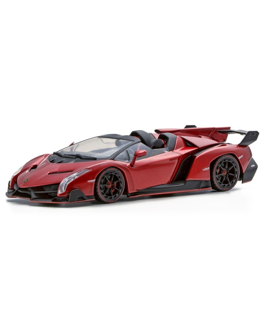 KYOSHO 1/43 Scale Lamborghini Veneno Roadster (Red Metallic /Red Line)