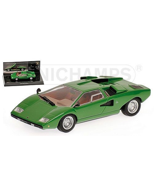 MINICHAMPS 1/43 Scale Lamborghini Countach LP400 1970 (Green) Museum Series