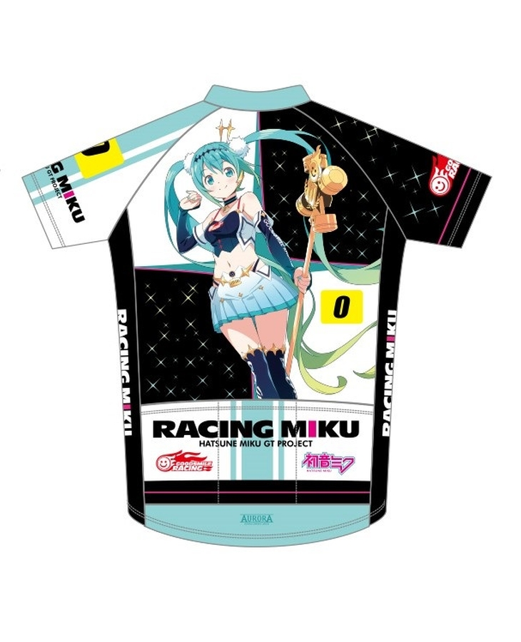 Cycling Jersey Racing Miku 2018 EDGE2 Ver.