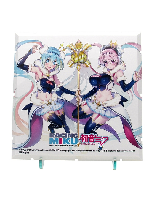 Dioramansion 150: Racing Miku Pit 2018 Optional Panel (Super Sonico Collab Ver.)