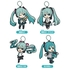 Hatsune Miku Nendoroid Plus Rubber Keychain (Collectible)