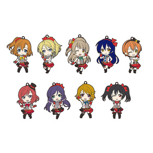 Nendoroid Plus Rubber Straps: LoveLive! 01 (Second Release)