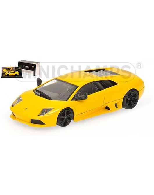 MINICHAMPS 1/43 Scale Lamborghini Murcielago LP640 2006 (Yellow) Museum Series