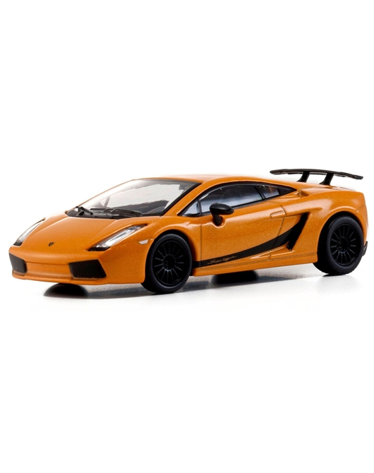 1/64KYOSHO Lamborghini Gallardo Superleggera 2007 (Orange Metallic)