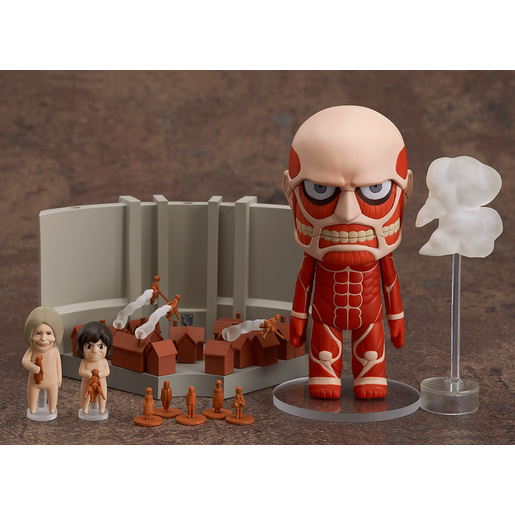 Nendoroid Colossal Titan Attack On Titan Playset Goodsmile Global Online Shop