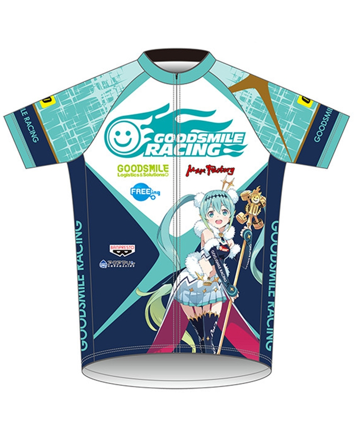 Cycling Jersey Racing Miku 2018 EDGE Ver.(Re-Release)